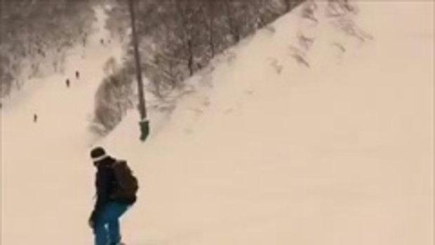 เคน ธีรเดช ถ่ายคลิป ณเดชน์ เล่นสโนว์บอร์ดที่ญี่ปุ่น เก่งไม่เบา