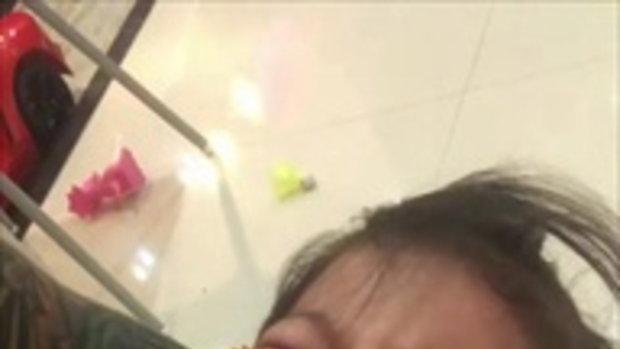 น้องคีริน ลูกชาย กาย ฮารุ ร้องไห้ดีดดิ้นอ้อนวอน หลังเจอคุณพ่อทำแบบนี้