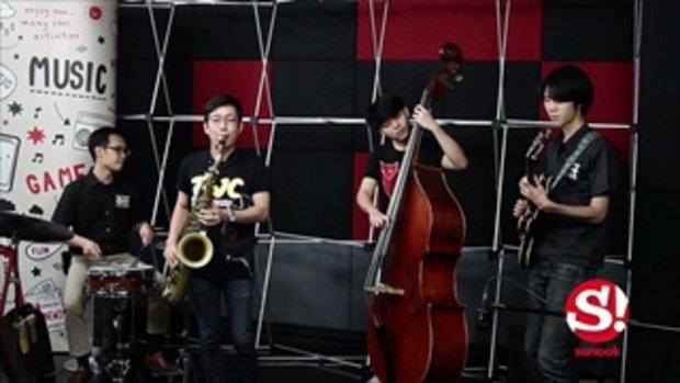 ตัวแทน ม.มหิดล โชว์เล่นสด ก่อนไปงาน Thailand International Jazz Conference ครั้งที่ 10