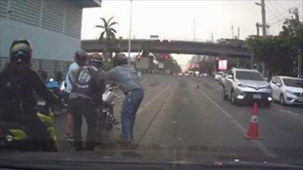 อย่างนี้มันไม่ต่างอาชญากรบนท้องถนน !! พยานหลักฐานกำลังตามล่าตัว