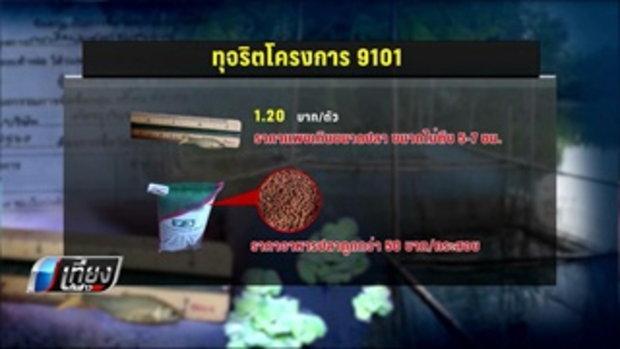 พบอีกแจกปลา 9101 กุฉินารายณ์ เงินไม่ผ่านบัญชีเกษตรกร - เที่ยงทันข่าว