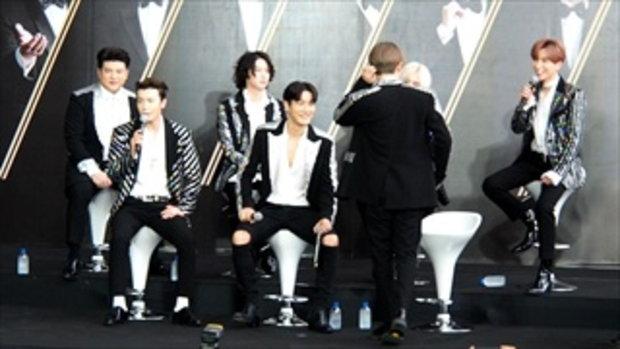 อึนฮยอก Super Junior โชว์สเต็ปแดนซ์ ก่อนคอนเสิร์ต SUPER SHOW 7 in Bangkok