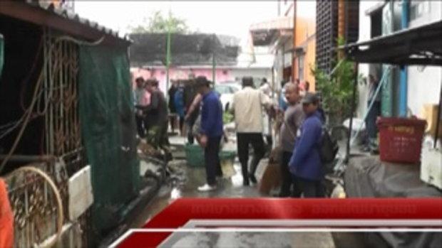 Sakorn News : เทศบาลตำบลบางเสาธง ลงพื้นที่ทำความสะอาดพร้อมปรับภูมิทัศน์
