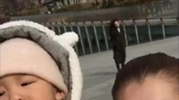 เรซซิ่ง ในชุดหมีที่เกาหลี น่ารักไปอีก