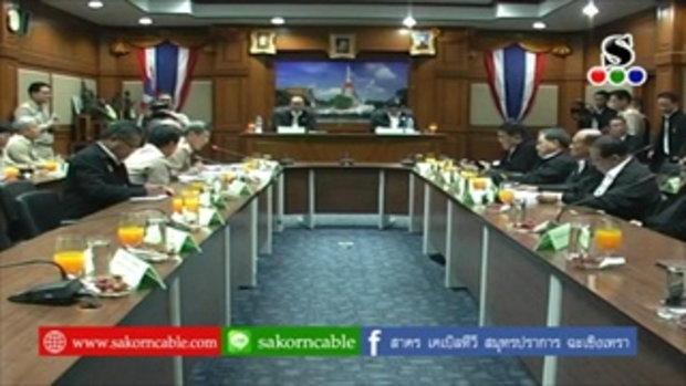 Sakorn News : รมต.กระทรวงมหาดไทยติดตามการบริหารจัดการขยะที่ สป.