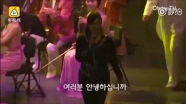 คิม ยองนัม หลั่งน้ำตา นักร้องเกาหลีเหนือ-ใต้จับมือร้องประสาน 'ความปรารถนาของเราคือการรวมชาติ'