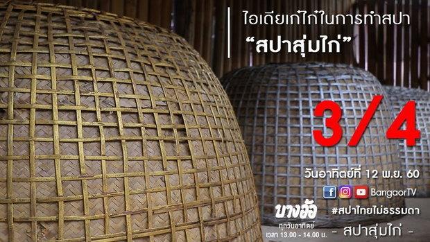 สปาสุ่มไก่ II สปาไทย ไม่ธรรมดา : บางอ้อ (12 พ.ย. 2560) 3/4