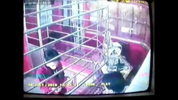 กล้องวงจรปิดจับภาพสาวสองวิ่งราวสร้อยทอง