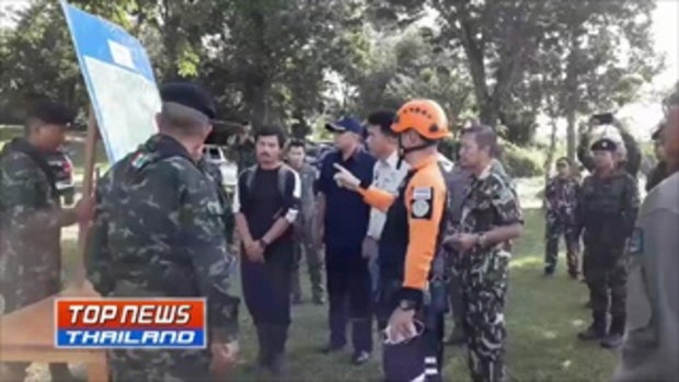 ทหารนำ ฮ. รอรับนักท่องเที่ยวตกเขา หลังเจ้าหน้าที่นำตัวขึ้นจากเหวสำเร็จ