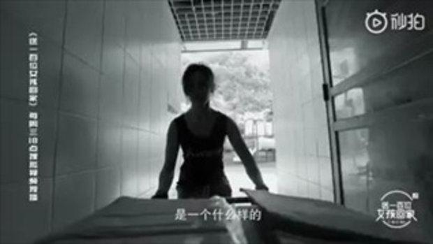 """""""เสี่ยวจู"""" กรรมกรสาว ยังทำงานขนของเหมือนเดิม แม้เป็นคนดังมีโอกาสเข้ามามากมาย"""
