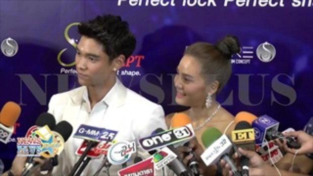 เจนี่-มิกกี้ ควงออกอีเว้นท์แรกหลังแต่ง หยอดหวานบอกรักกันกลางวงสัมภาษณ์