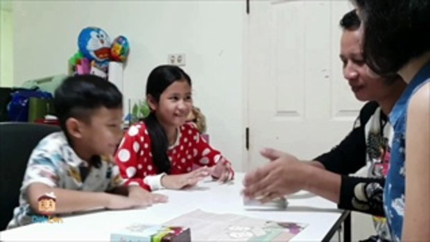 Deklen ครอบครัวหรรษารีวิวการ์ดเกม King of Thought