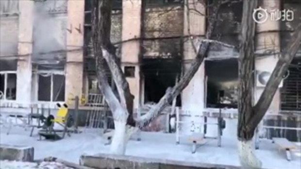ห้องแล็บสยอง ระเบิดระหว่างทำการทดลอง นักศึกษาจีนดับ 3 ราย