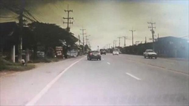 ทหารหนุ่มหัวร้อน ฉุนโดนขับรถเบียด ปาดหน้า-ชักปืนขู่ฆ่าพ่อแม่ลูกยกครัว