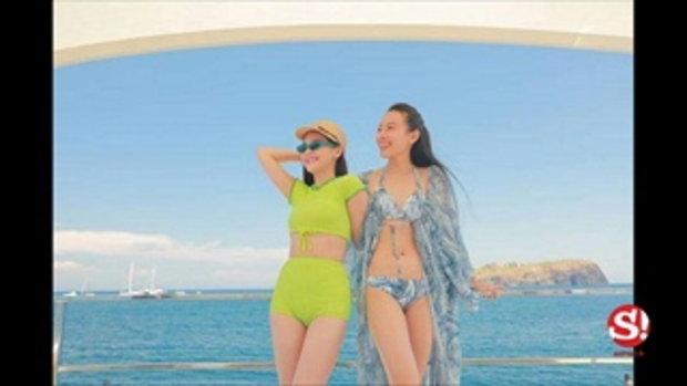 ออม สุชาร์ ขอยอมแพ้ชุดว่ายน้ำ ทับทิม มัลลิกา ทริปนี้แซ่บเว่อร์