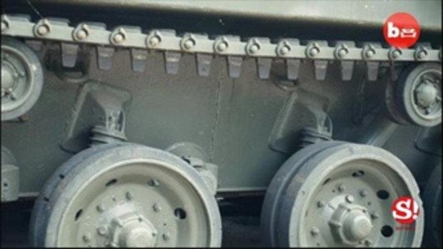 Tank Limo รถถังลิมูซีนที่คุณเช่าไปปาร์ตี้ได้!