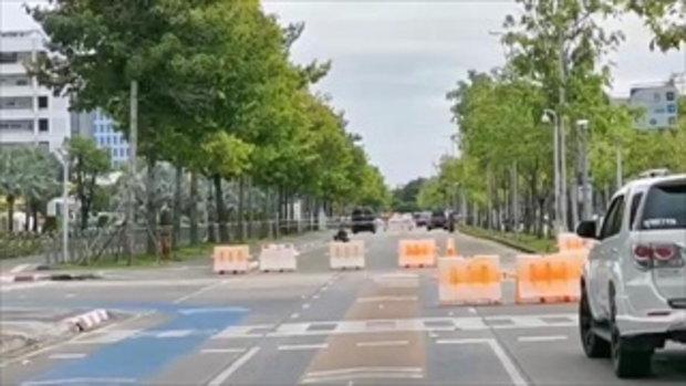 ระเบิด 3 ครั้ง หน้าศูนย์ราชการ จนท.ปิดถนน เร่งเก็บกู้อีก 1 หน้ากองบัญชาการกองทัพไทย