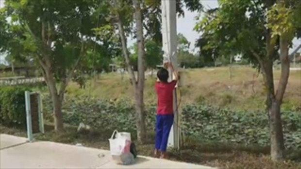 ตำรวจจับคนร้ายย่องเข้ารีสอร์ต ปล้นทำร้ายสาวเมืองกรุง พบยังเป็นแค่เยาวชน