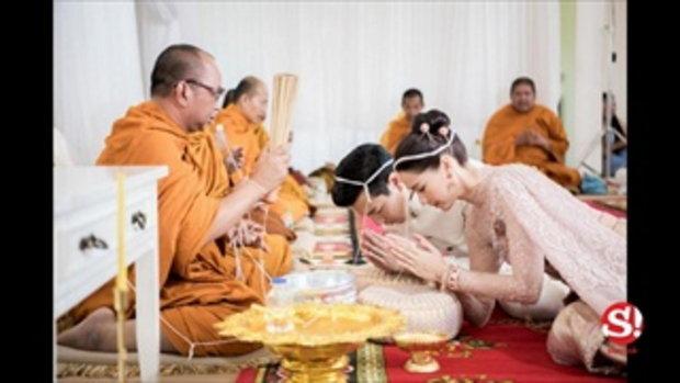 ภาพเต็มสุดอบอุ่น โดม-เมทัล เข้าพิธีแต่งงาน ณ วิลล่าสุดหรูของคุณแม่โดม