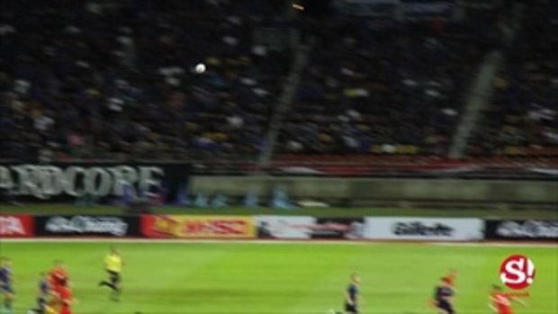 คลิปไฮไลต์ ไทยแบ่งแต้มเวียดนาม 0-0 ฟุตบอลโลก 2022 รอบคัดเลือก โซนเอเชีย