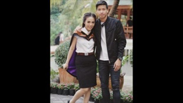 ส่องความน่ารัก! น้องแอน แฟนสาว ตั้ม ธนบูรณ์ มิดฟิลด์ทีมชาติไทย