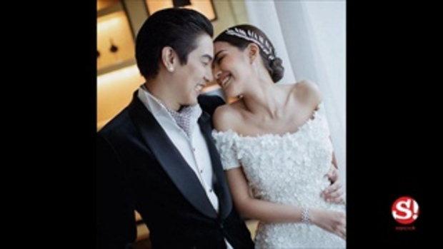 ใบเตย อาร์สยาม เผยภาพชุดแต่งงานชัดๆ 1 ใน 7 ชุดสวยของเจ้าสาวป้ายแดง