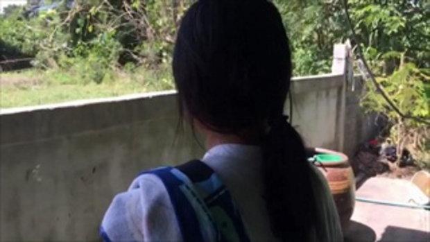 พ่อซุ่มยิงปืนอัดลมใส่ลูกสาวตัวเอง กระสุนฝังใน แค้นใจหนีไปอยู่บ้านแฟน