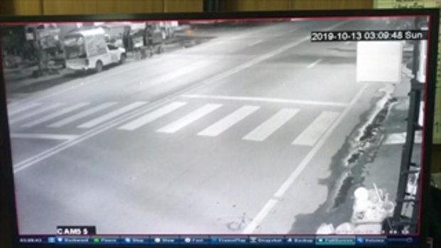 2 สาวพริตตี้หอบคลิปแจ้งตำรวจ นาทีกระบะตามไล่ยิง แบบไม่ทราบสาเหตุ