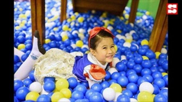 ปาร์ตี้วันเกิด 5 ขวบ น้องมายู อบอุ่นพร้อมหน้าพ่อแม่ลูก แม่เมย์อวยพรซึ้ง