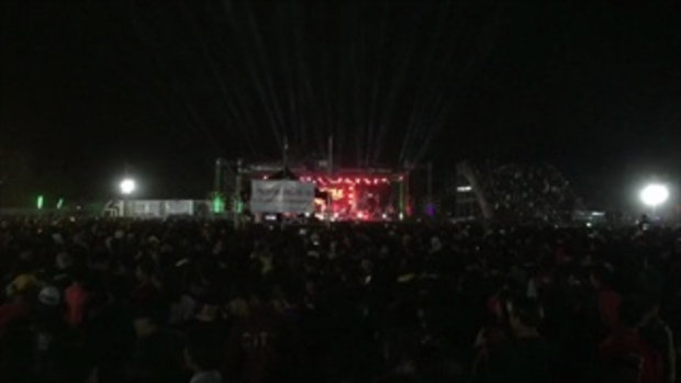 โกลาหลตามคาด โจ๋เปิดฉากตะลุมบอน หลังจบคอนเสิร์ต
