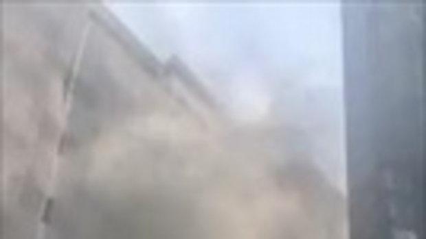 เผยคลิปไฟไหม้โรงแรมมณเฑียร คาดต้นเพลิงมาจากส่วนปรับปรุงตึก