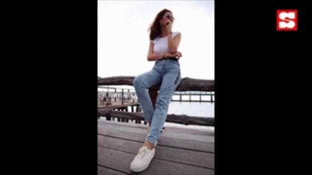 คนนี้ตัวจริง! ลีซอ ควง เฟี๊ยต แฟนสาวสุดสวยหวานเวอร์ที่ทะเลภูเก็ต