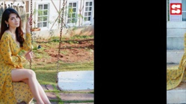 แน๊ต เกศริน ปล่อยความแซ่บในชุดบิกินีสีเนื้อบางเบา