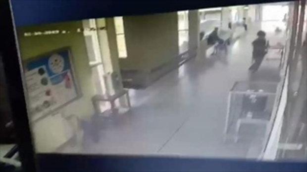 วงจรปิดจับนาทีสาวปริศนา อุ้มทารก 2 วัน หนีหายจากห้องคลอดโรงพยาบาล