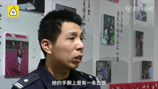 รักเลือดท่วม หญิงจีนเมากรีดข้อมือ-ถ่ายรูปส่งให้แฟนเก่า หวังคืนดี