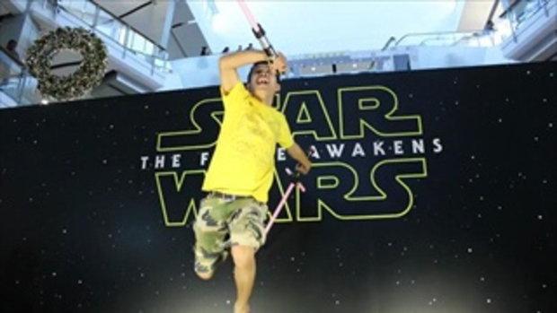 STAR WARS แสดงคลิปกระโดดยัง 3D ครั้งที่1
