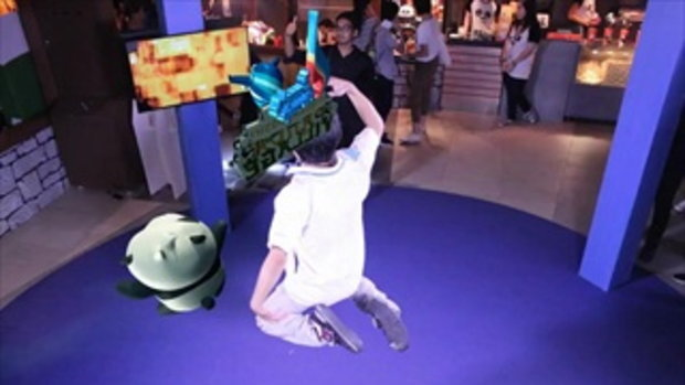 ก้งฟูแพนด้า ภาค3 แสดงคลิปกระโดด 3D
