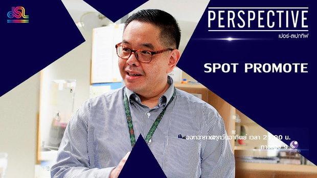 Perspective Spot Promote : รศ. นพ. สัมมน โฉมฉาย - การรับมือกับฝุ่น PM 2.5 [27 ม.ค 62]