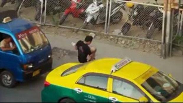 โซเชียลน้ำตาไหล ยกย่อง 3 พลเมืองดี นาทีฉุกเฉินอุ้มยายไปโรงพยาบาล