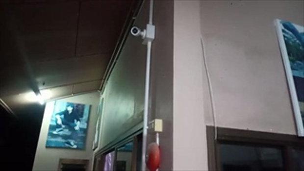 กล้องวงจรปิด สาววัย 18 ปี ถูกหนุ่มหล่อในเฟซบุ๊กลวงข่มขืนยับคารีสอร์ต