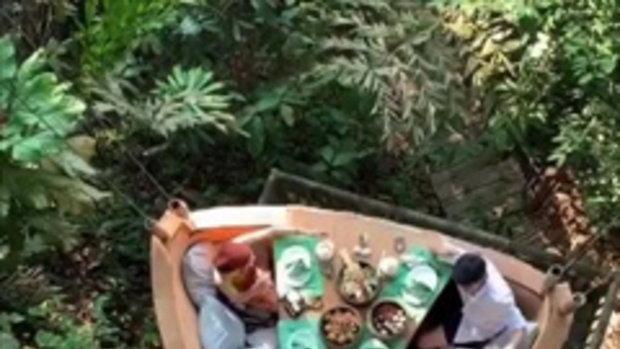 โรแมนติกสุดๆ บรรยากาศทานข้าวของ2 คู่รัก มิ้นต์-ภูผา กับคู่ เต๋อ-ใหม่