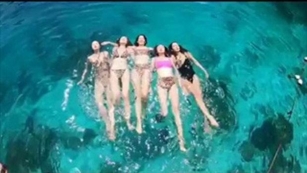 เมย์ ปาลิดา จัดชุดว่ายน้ำสุดแซ่บแบบยกแก๊ง