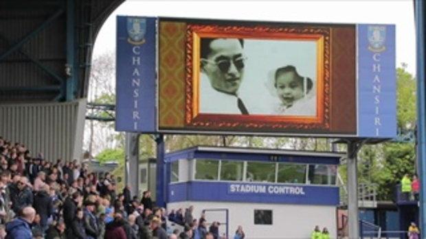 ทีมฟุตบอล Sheffield Wednesday เปิดเพลงสรรเสริญพระบารมี ในสนาม ก่อนเตะ