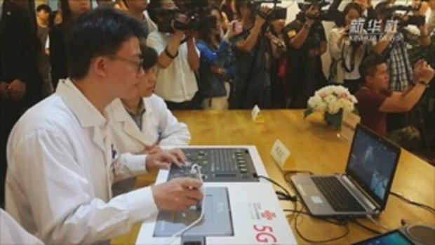 ก้าวหน้าอีกขั้น แพทย์จีนใช้เทคโนโลยี 5G อัลตราซาวด์ทางไกล