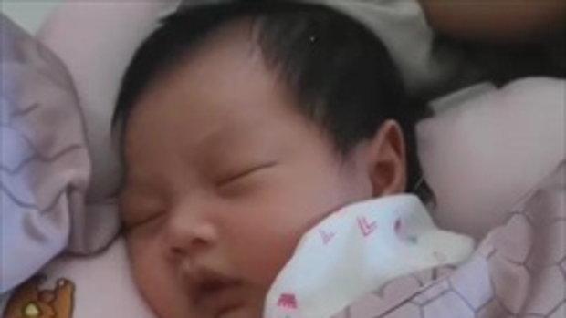 คุณพ่อศรราม ลงคลิปน้อง วีจิ นอนกรนน่ารักๆ