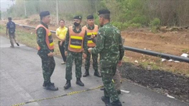 2 พ่อค้ายาเผารถ พร้อมยาบ้า 1ล้านเม็ดตำรวจปิดป่าล่า