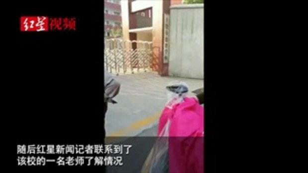 โรงเรียนประถมจีนช็อก พ่อบุกแทงเด็กชาย 10 ขวบ ดับ แค้นรังแกลูกสาว