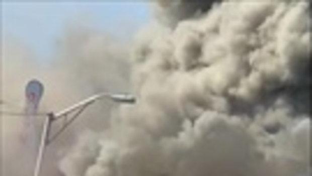 นาทีระทึก!! ไฟไหม้รุนแรง แต่ฝีมือนักดับเพลิงเอาอยู่...