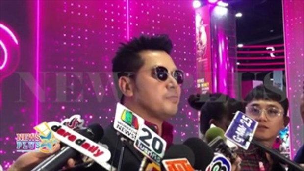เต๋า สมชาย จุ๊บปากภรรยาออกสื่อ หลังครบรอบแต่งงาน 10 ปี
