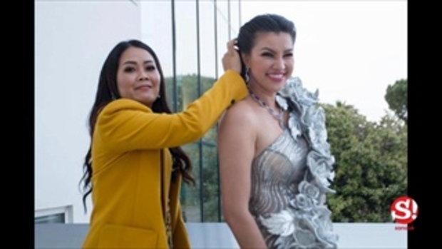 รู้จัก ยุ้ย กันธิชา สาวไทยใส่ชุดเจ้าแม่นาคีเดินพรมแดงคานส์ ประวัติไม่ธรรมดา